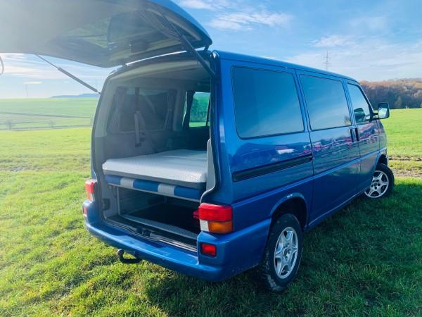 VW - T4 Multivan - 3er Sitzbank - Klappmatratze 11,5cm Komfort 7-Zonen-