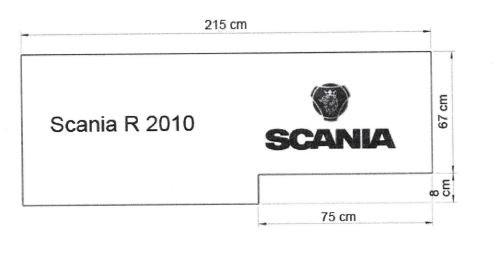 Scania - R 2010 - DeMinimis förderfähige LKW Matratze