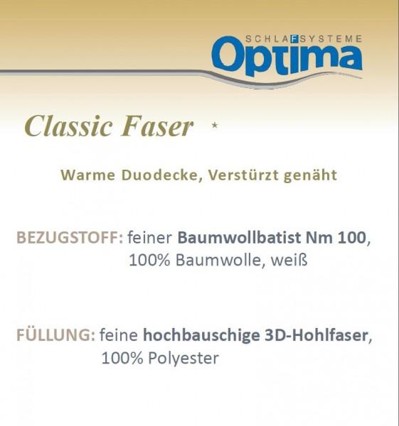 Faserdecke - Optima Classic *- warme Winterdecke
